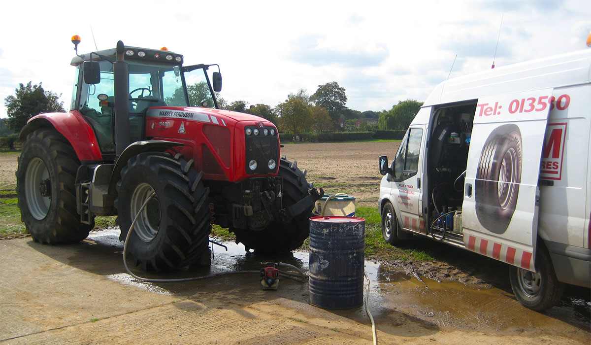 K&M Tyres | Agricultural Tyres-Fitting-Repairs-Water Balancing-Farms-Suffolk